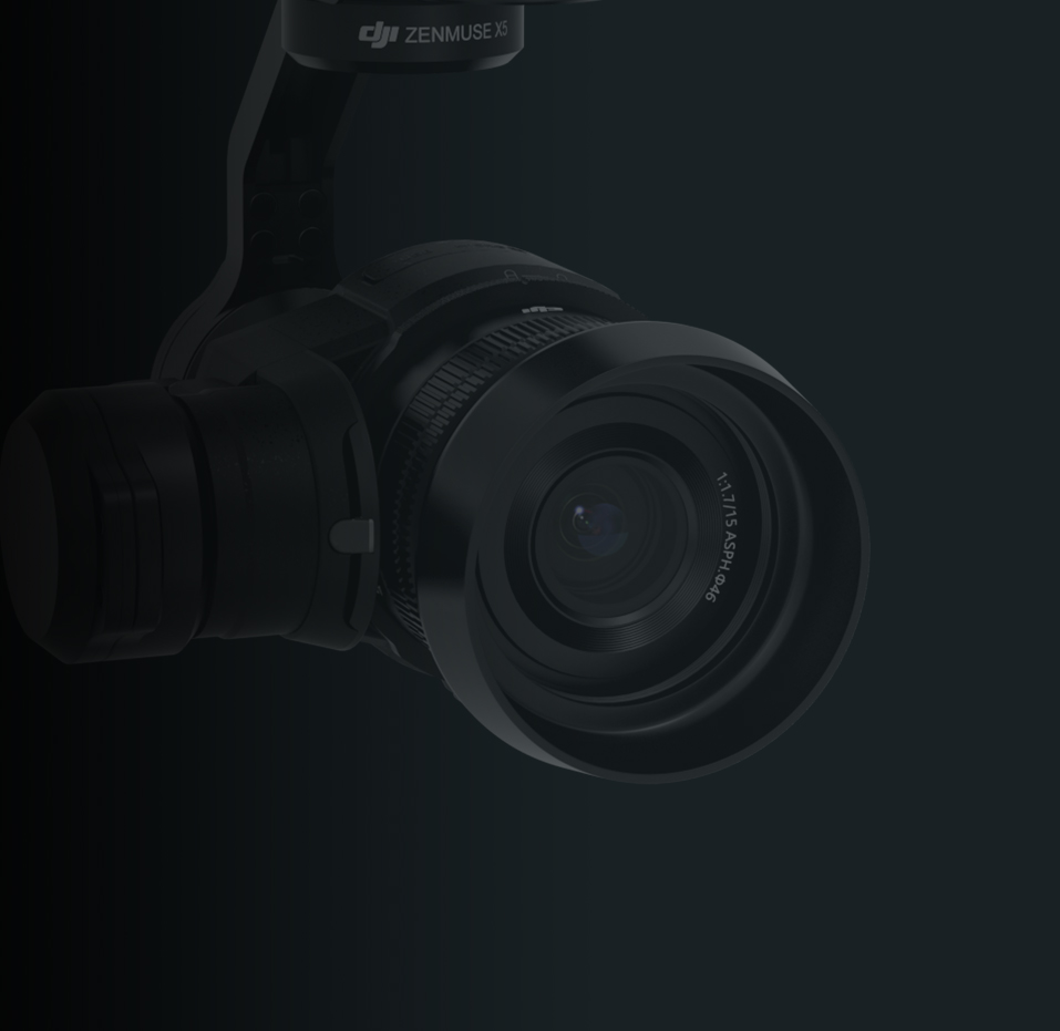 Xenmuse X5 DJI Gimbal for Professional Aerial Photography