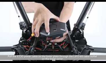 DJI Tutorials – M600: Installing the Landing Gear and GPS Module