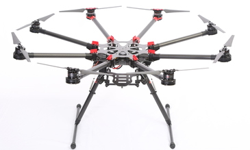 DJI released its new Spreading Wings S1000 octocopter drone