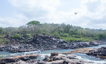 DJI and McGill University Maps Brazil's Xingu River in Fish + Forest Project