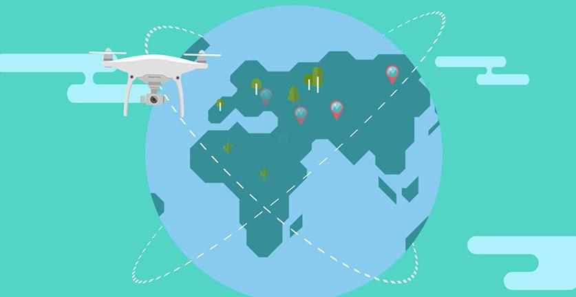 bezpiecznie latanie dronem