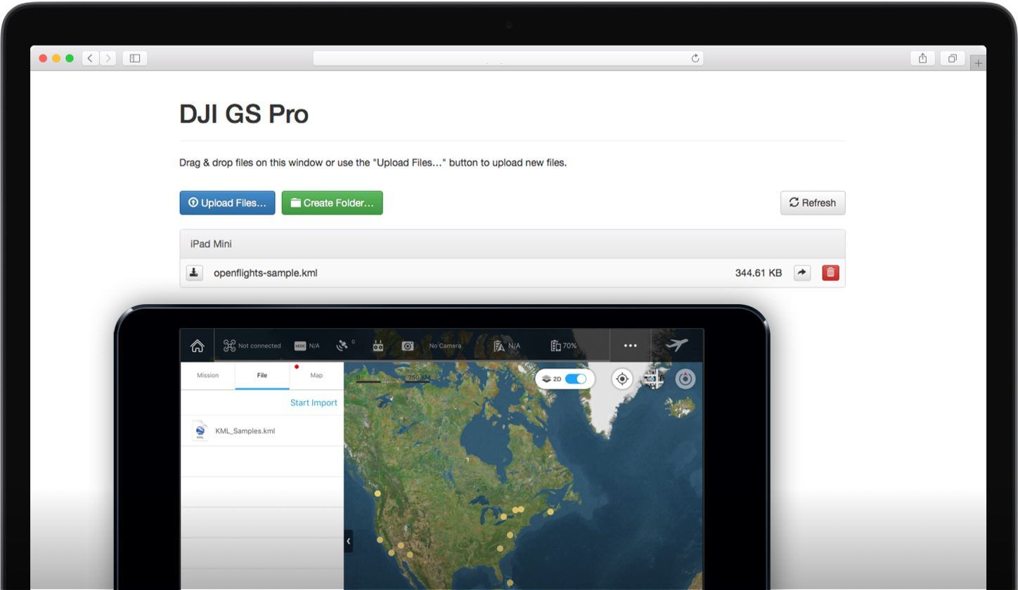 DJI GS Pro - Manage Drone Operations on Your iPad - DJI