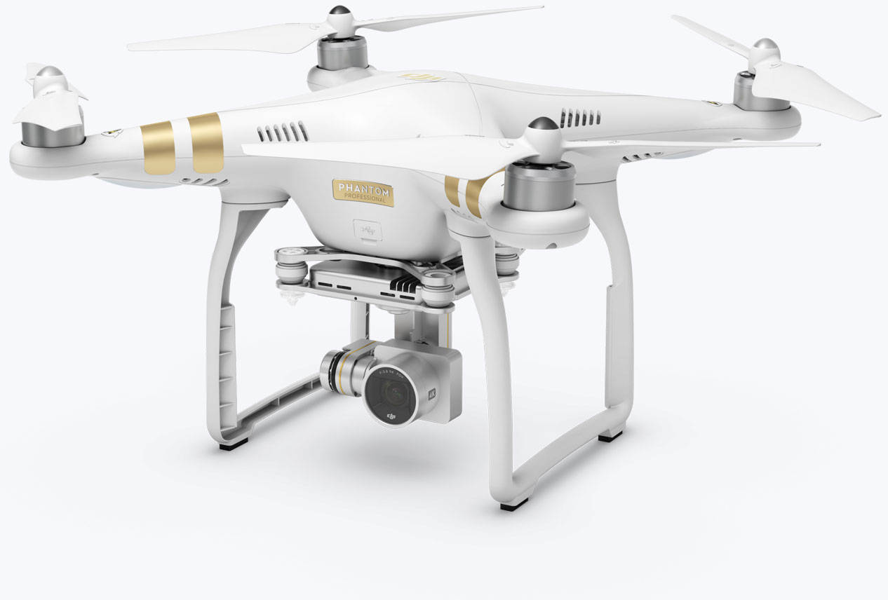 Phantom 3 Professional - Let your creativity fly with a 4K