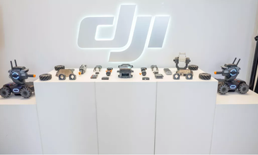 DJI's new $500 RC robot features a camera, 31 sensors and a mini cannon
