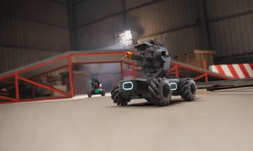 DJI gets into the battling robot business
