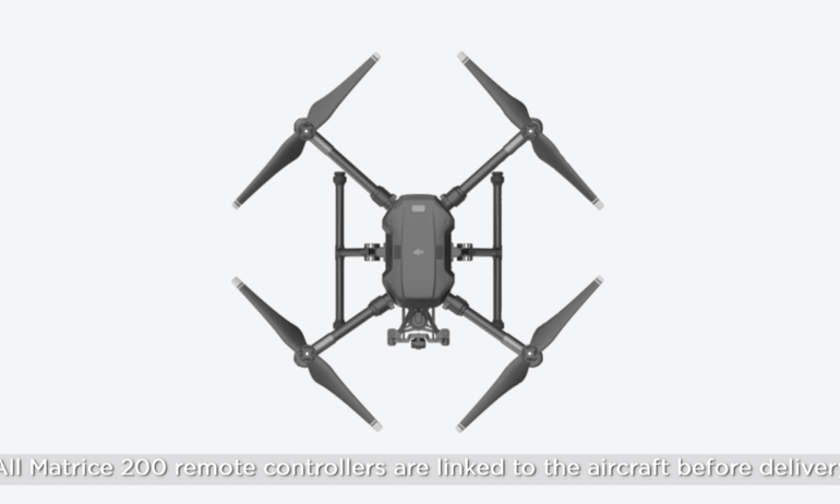 DJI Matrice 200 – Linking the Aircraft and the Remote Controller