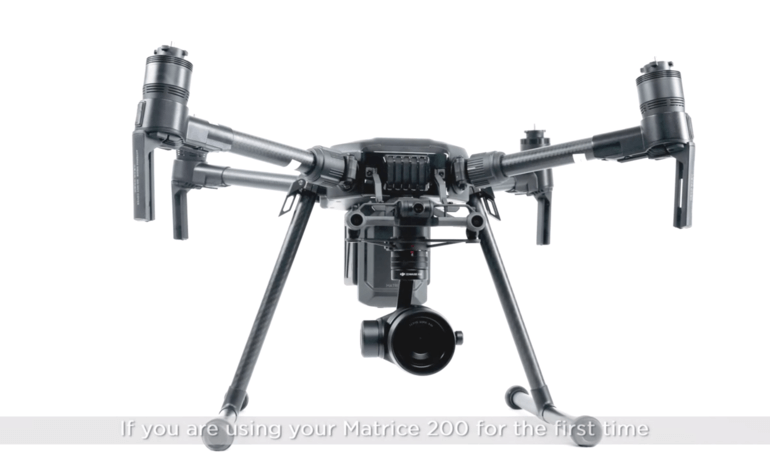 DJI Matrice 200 - Activating the Aircraft