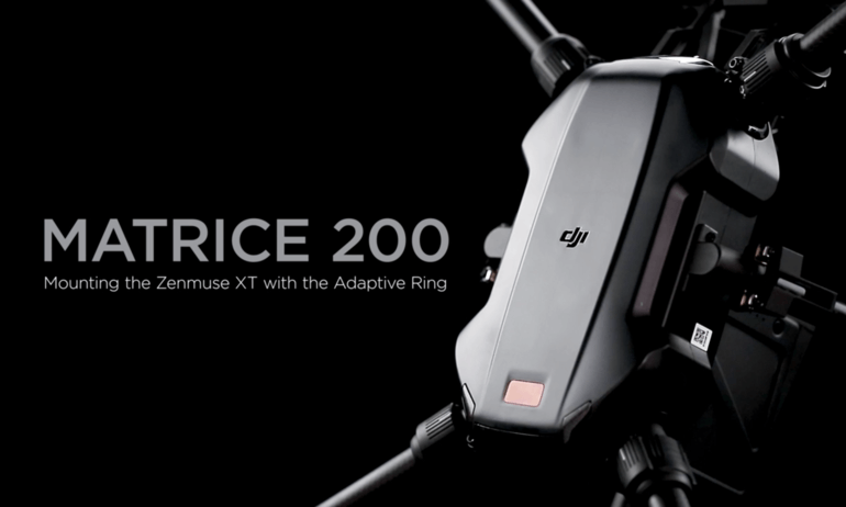 DJI Quick Tips - Matrice 200 - Mounting the Zenmuse XT with the Adaptive Ring
