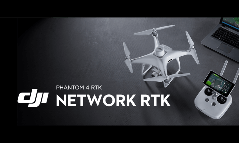 Phantom 4 RTK – Network RTK