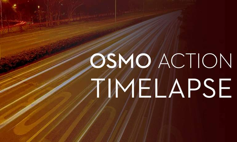 DJI - Osmo Action - How to Shoot Timelapse with Osmo Action