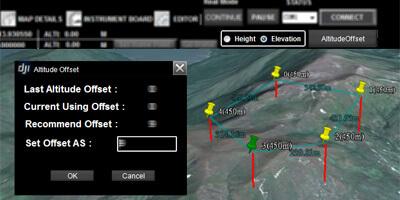 2 Waypoints Altitude Display Mode