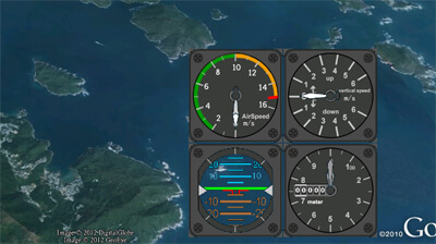 Real-time flight Monitoring