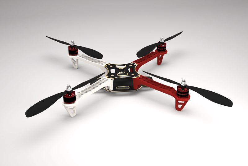 dji releases flame wheel f330 arf kit