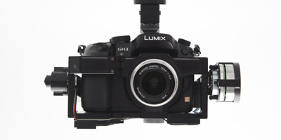 Gimbal Design Customized for the Panasonic GH3